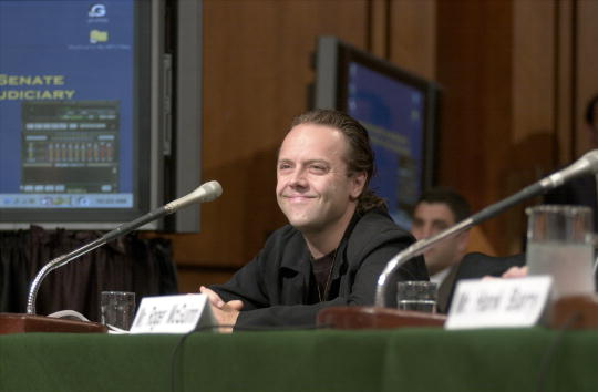 Man, remember Napster? (Photo by Stephen J. Boitano/Newsmakers)