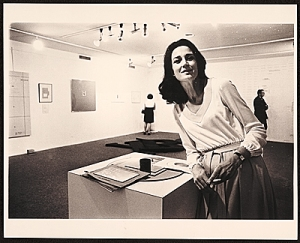 Dwan in 1969. (Courtesy the Archives of American Art, Smithsonian Institution)