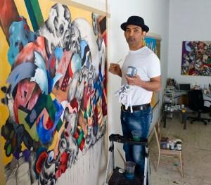The artist. (Courtesy Gladstone, photo by Alix Smith)