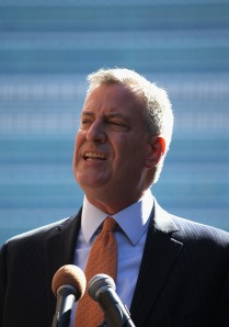 Bill de Blasio. (Photo: Getty)
