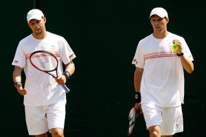 The Bryan brothers. (Getty Images)