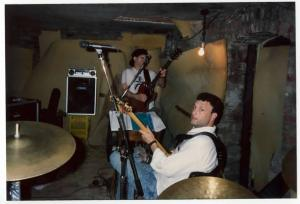 Paul Caporino, Chicago 1989, with a rare appearance by Rob Kurson on bass.