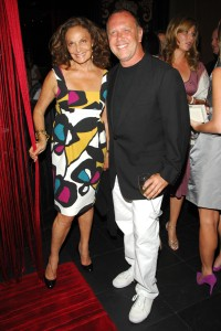 CFDA President and Vice President (and Jews!) Diane von Furstenberg and Michael Kors (photo: Patrick McMullan)