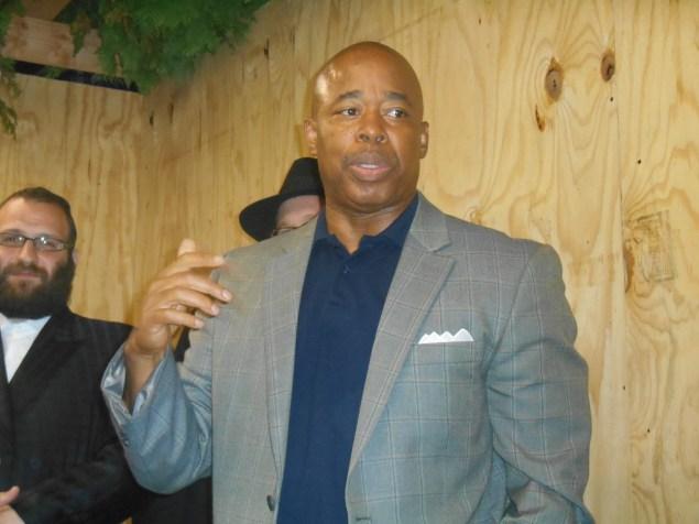 Brooklyn Borough President Eric Adams (Photo: Ross Barkan).