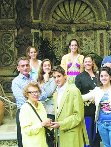The family that believes they have a claim on Villa La PIetra.