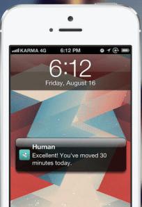 Good work, human! (Photo: iTunes)