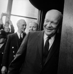 Dwight Eisenhower. (Photo by Evening Standard/Getty Images)