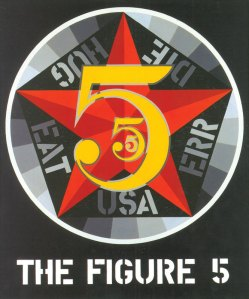 """""""The Figure Five"""" by Robert Indiana (1963)"""
