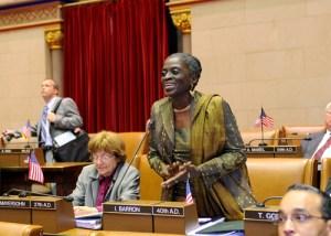 Assemblywoman Inez Barron. (Photo: NYS Assembly)