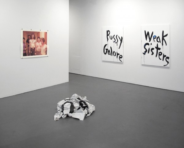 Installation view. (Courtesy White Columns)