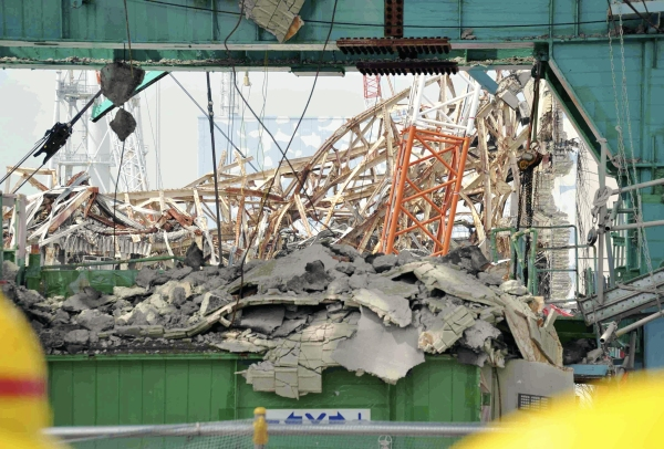 The Fukushima disaster: could it happen here?  (Photo: Getty Images)