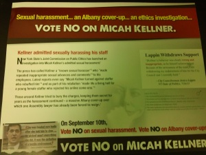 The other side of the mailer.