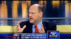 Joe Lhota on Fox 5.
