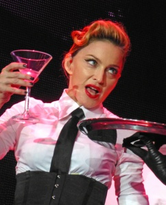 Madonna performs at the Madison Square Garden for the victims of the hurricane 'Sandy'