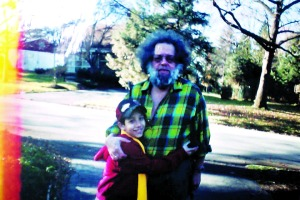 Marshall Berman with his son Danny