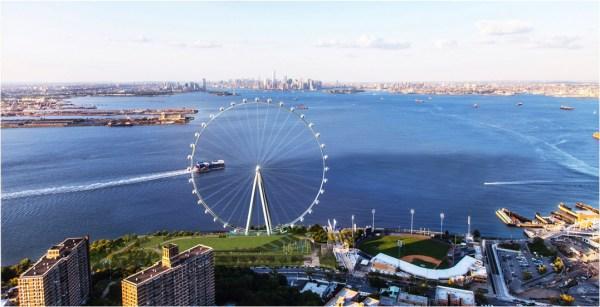As the world turns... (New York Wheel)
