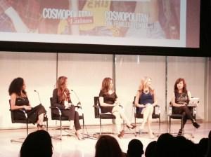 From left to right: Monique Coleman, Chelsea Krost, Maria Ramirez, Christine Hassler, Donna Kilajian Lagani