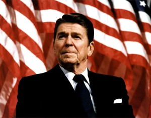 Ronald Reagan. (Photo by Michael Evans/The White House/Getty Images)