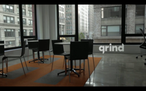 Working at Grind is keeeewl (Photo: Vimeo)