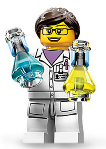 Here she is! (Photo: Gizmodo/Lego)