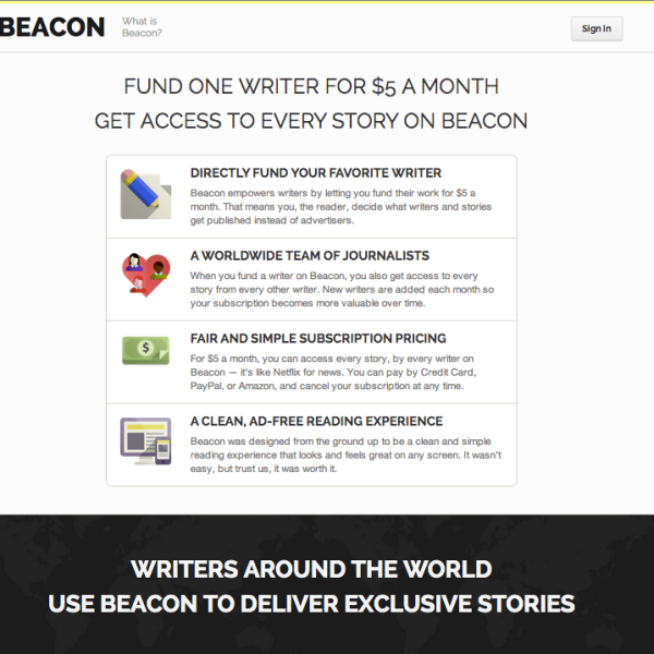 Beacon Reader
