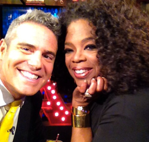 It's @andy and @oprah! (Photo: Instagram)