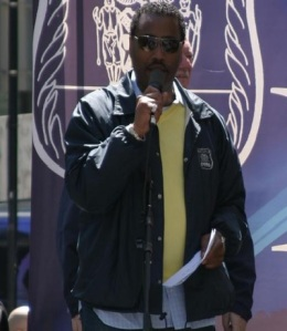 Norman Seabrook at a COBA rally. (Photo: cobanyc.org)