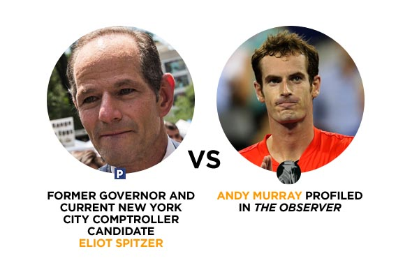 Eliot Spitzer Vs. Andy Murray