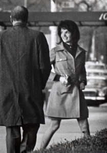 Outside Jackie Kennedy Onassis' Apartment - March 14, 1969