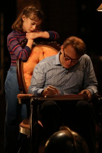 Sydney Lucas and Michael Cerveris in 'Fun Home.' (Photo by Joan Marcus)