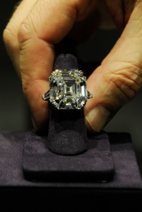 Diamond ring for Billionaire Buzzkill