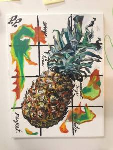 Pat Palermo's pineapple. (Courtesy the artist)