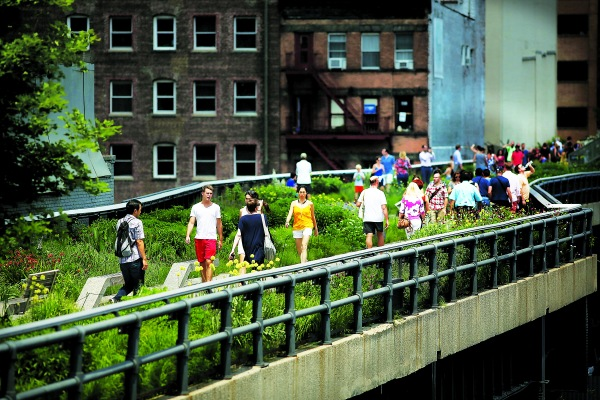 The High Line. (Photo by Spencer Platt/Getty Images)