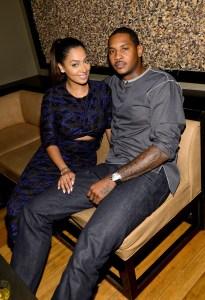 Anthony with his wife, La La.