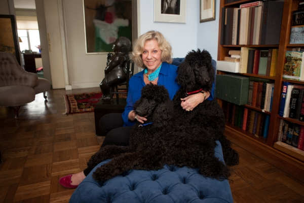 Erica Jong at her apartment on the Upper West Side. (Photo: Washington Post)