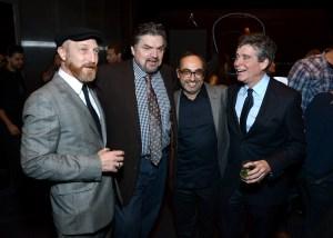 Jonathan Ames, Oliver Platt, Gary Shteyngart and Jay McInerney.