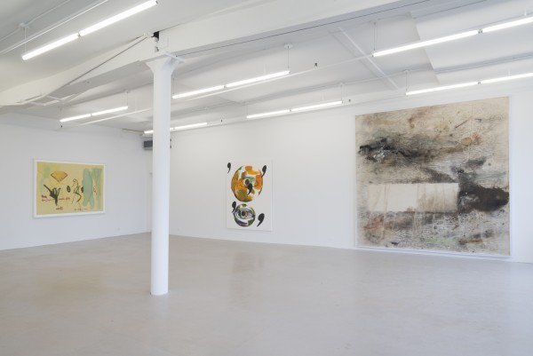 Installation view with works by Yesiltac, Mayton and Dodd. (Courtesy David Lewis Gallery)