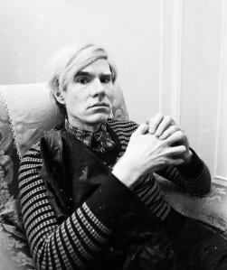Andy Warhol (Photo: Powell/Express/Getty Images).