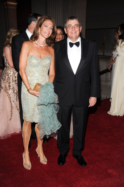 Beth and Leonard Wilf at the Met's spring gala, 2010. (Photo by Patrick McMullan)