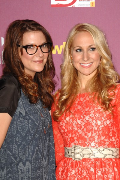 Sara Schaefer and Nikki Glaser.