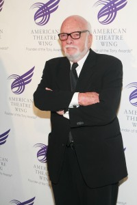 Hal Prince managed to make a big profit without a big production. (Patrick McMullan)