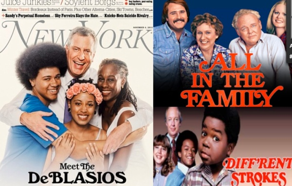 Family resemblance. (New York/Christopher Anderson,  CBS, ABC)