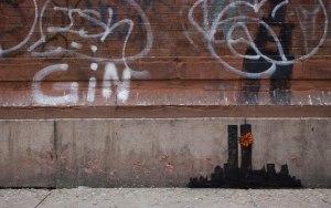 Banksy's latest in TriBeCa. (Photo: Facebook)