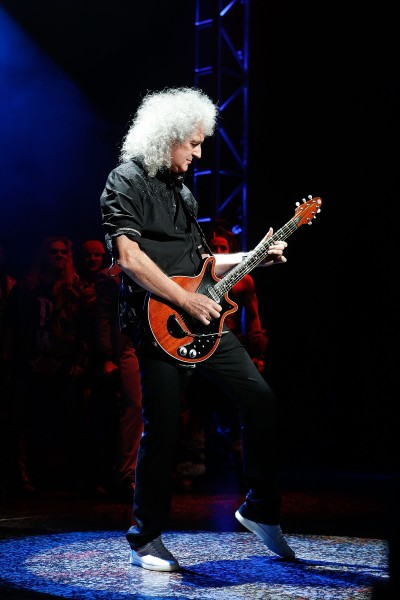 Brian May. (Photo by Getty Images)