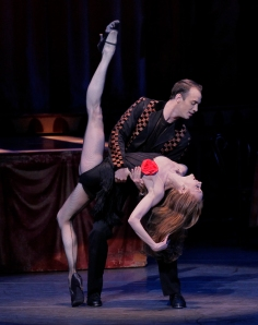 Maria Kowroski and Tyler Angle in 'Slaughter On Tenth Avenue.' (Photo by Paul Kolnik)