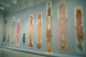 Installation view of works by Guo.