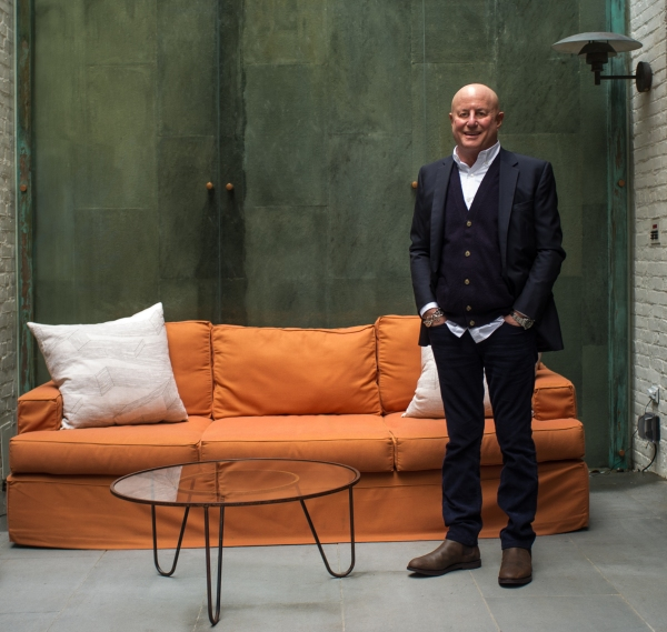 Ronald O. Perelman is in a surprising place—at peace. (Photo by Will O'Hare)