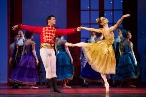 Maria Kochetkova and Joan Boada in 'Cinderella.' (© Erik Tomasson)