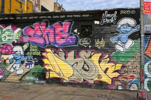 Graffiti artists aren't going down without a fight.