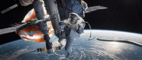 Sandra Bullock stars in 'Gravity.'